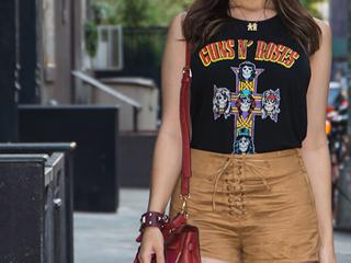 Pelas ruas do Soho: look da blogueira Mônica Araújo em Nova York.