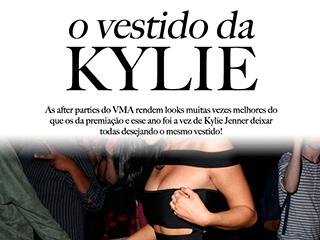 Veja os detalhes sobre o vestido da Kylie Jenner, destaque das after parties do VMA.