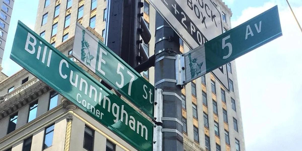 Vem saber mais sobre a homenagem de NY a Bill Cunningham!