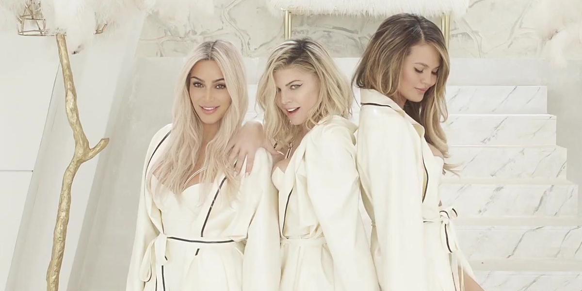 MILF Fergie Kim Kardashian Oh My Closet