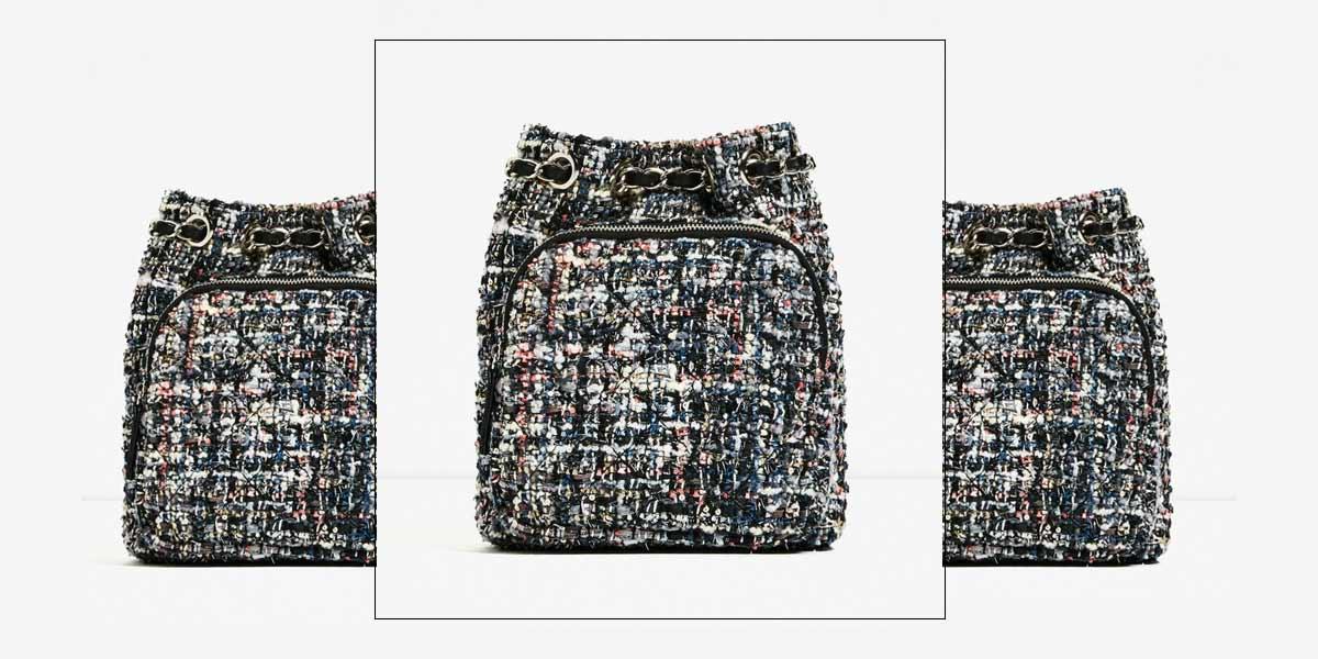Mochila Zara Chanel inspired Oh My Closet.