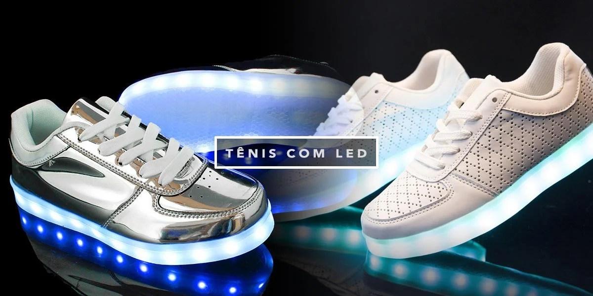 Tênis com Led é a tendência do momento, vem ver mais detalhes no Oh My Closet e saiba onde comprar!