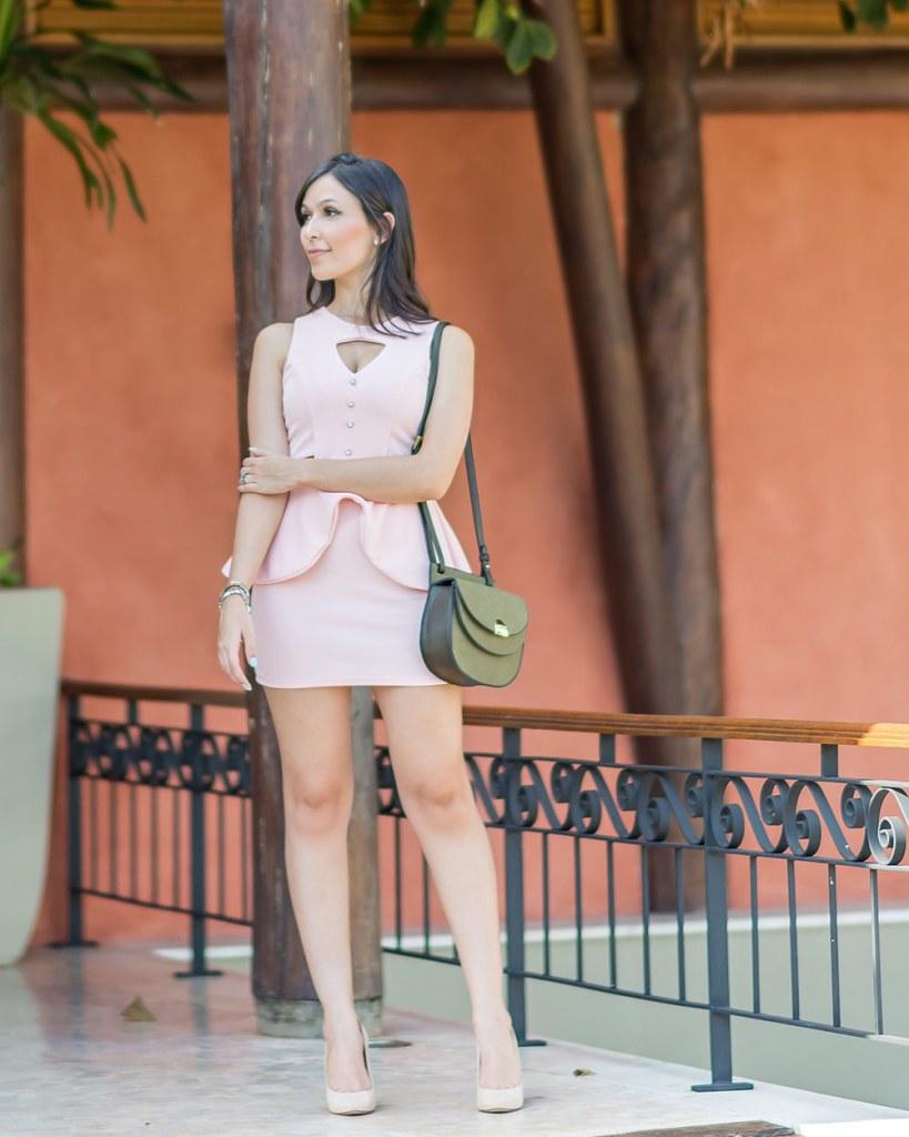 Conjunto recortes rosê Ypslon Atacado look blogger Mônica Araújo Verão