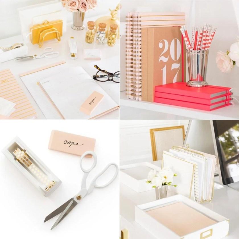 Planner 2017 minimalista da Sugar Paper para Target. A coleção em papel kraft e tons pastel é o paraíso de papelaria!