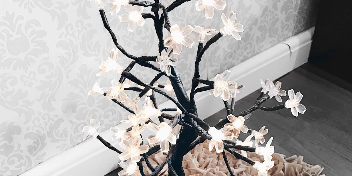 Árvore de luz Imaginarium onde comprar com desconto dicas Oh My Closet.