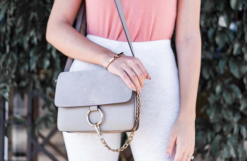 Bolsa Ali Express Chloé Faye inspired onde comprar look básico Mônica Araújo blogger Oh My Closet!