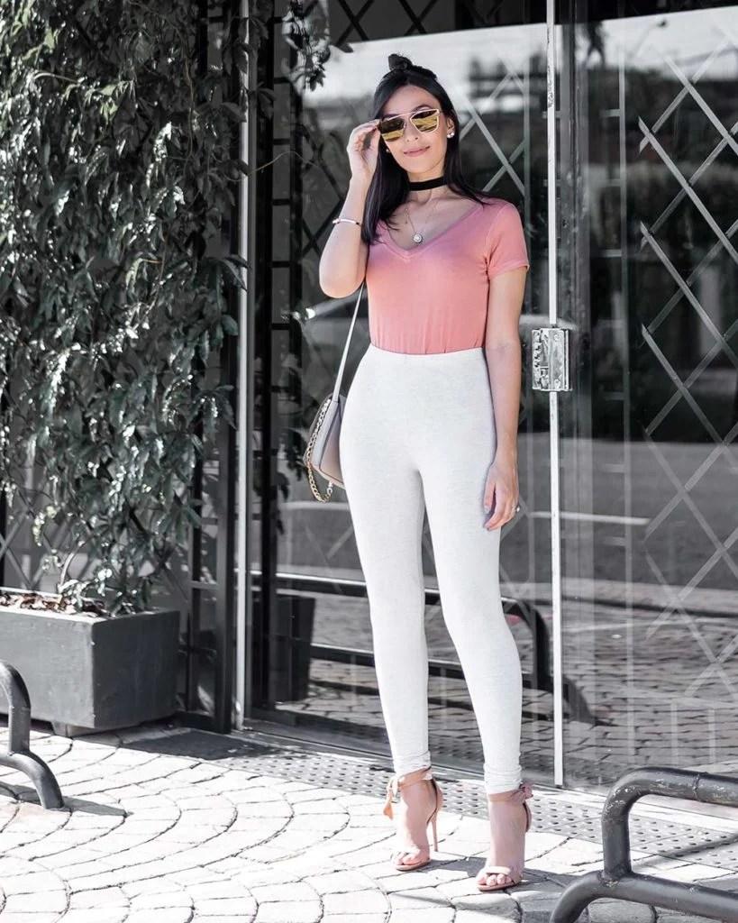 Look básico tendência rosa blush inverno 2017 blogger Mônica Araújo Renner Ali Express
