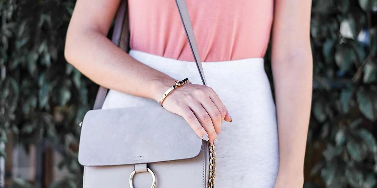 Look tons neutros rosa blush bolsa faye inspires Dafiti Renner Mônica Araújo blogger