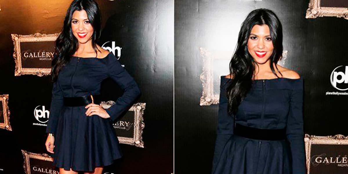 Vestido Kourtney Kardashian Contrarian Olivia