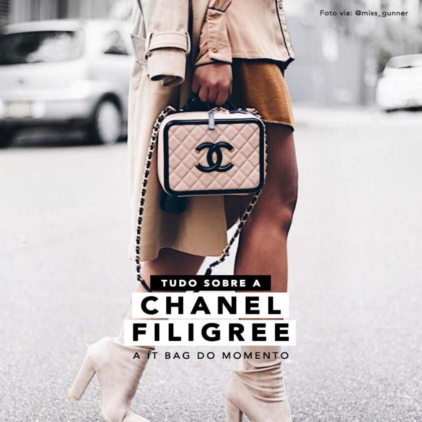 Saiba tudo sobre a bolsa Chanel Filigree, nova it bag.