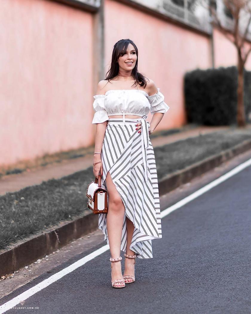 Look com roupas baratas da China para o verão através da ToSave, um site super confiável.