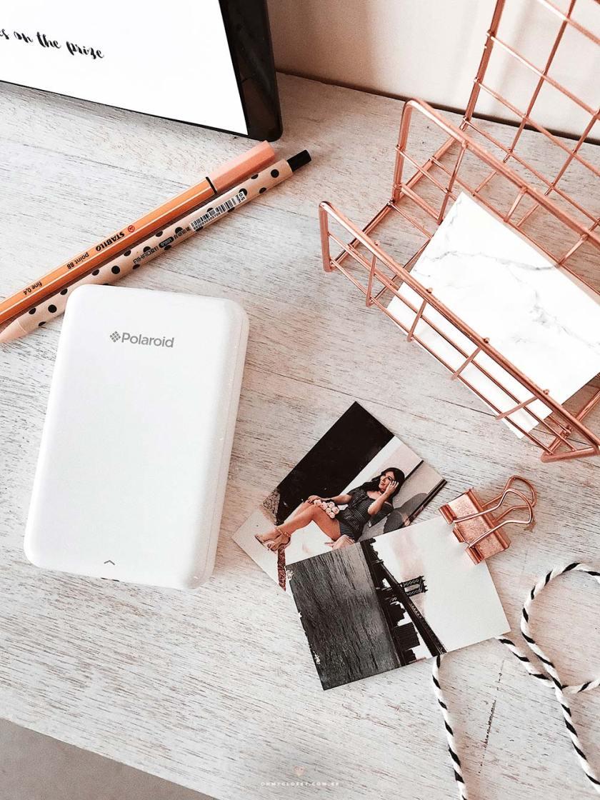 Resenha Polaroid Zip Printer . Como funciona e onde comprar.