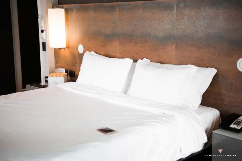 Review quarto de hotel melia ibirapuera