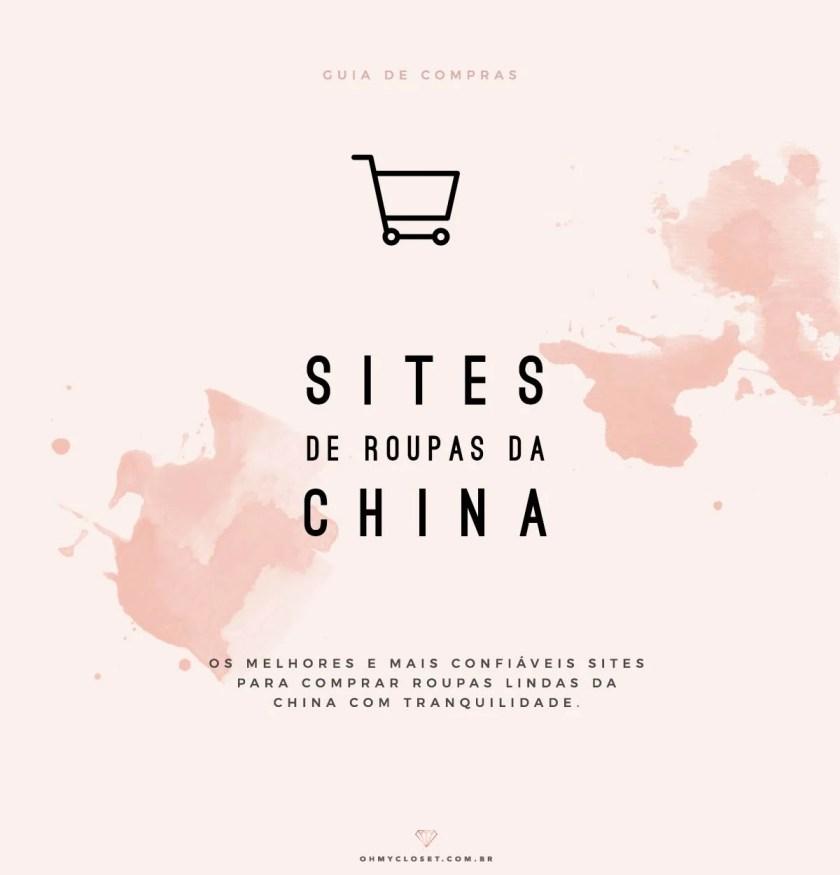 Melhores sites de roupas baratas da China.