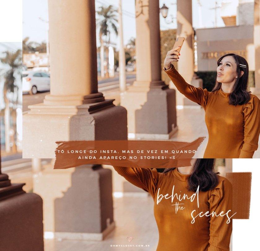 Bastidores dia de fotos da blogueira Mônica Araújo.