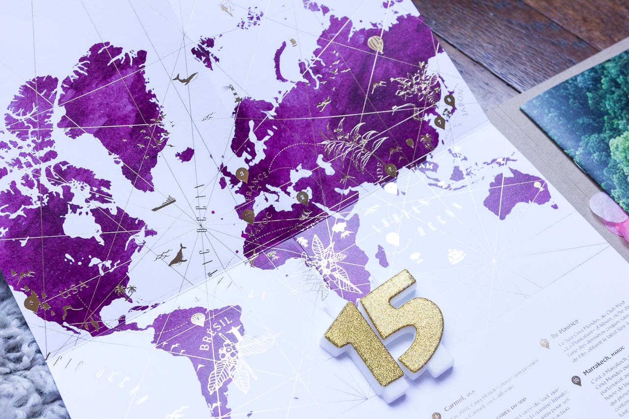 cinq mondes spa paris soin peau test avis revue blog anniversaire creme