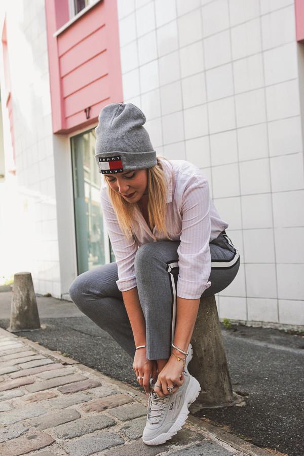 Blogueuse mode en look sportswear