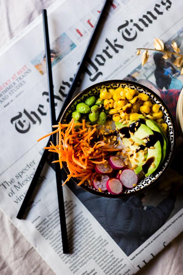 Pokebowl végétarien