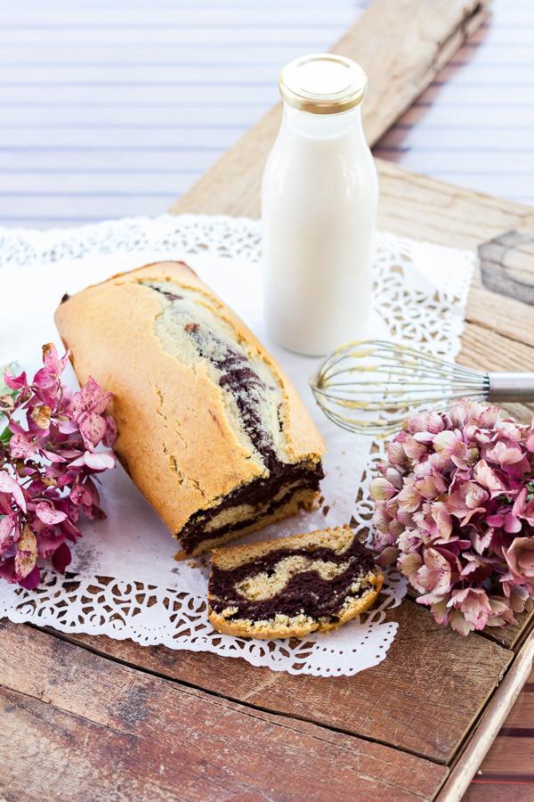 Marbré chocolat noisette