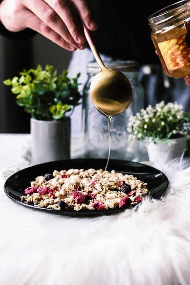 recette granola maison healthy miel comment faire muesli degustabox