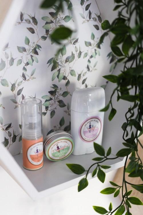 Test produits les savons de Joya