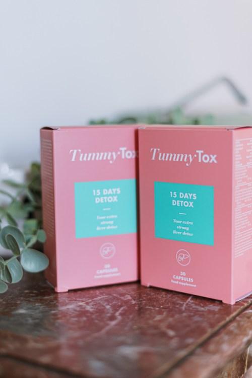 Gélules 15 days detox Tummy Tox