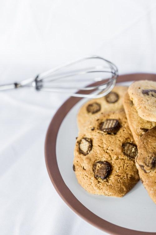Détail des pépites d'un cookie