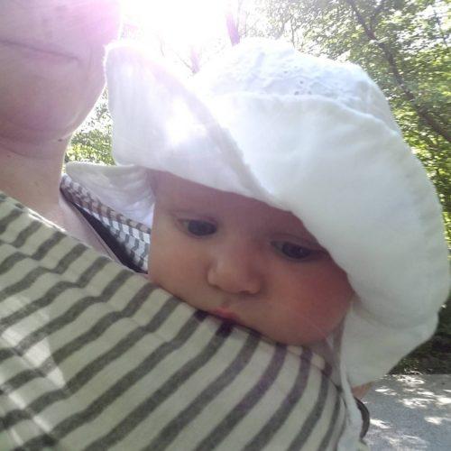 Babies and sunhats