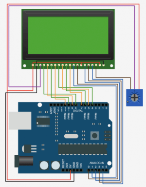 Graphic LCD 128×64 STN LED using GLCD v3 (and buttons