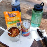 Beans and Rice, Camping Dinner