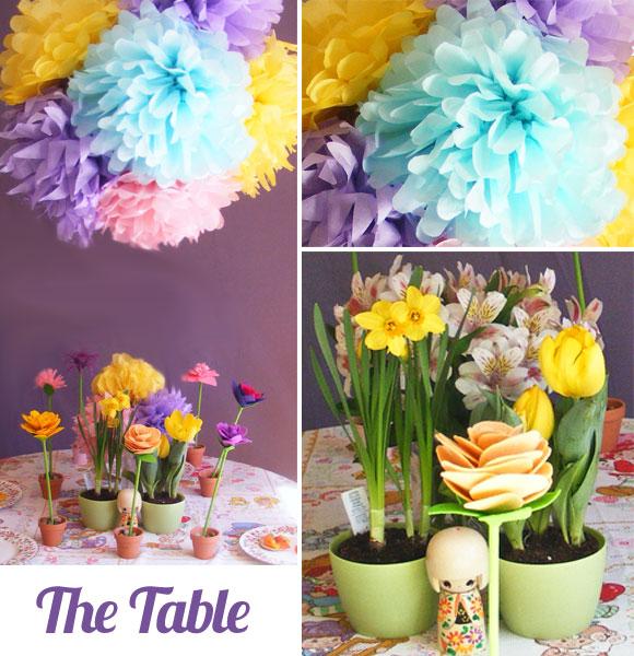 Handmade Parties Spring Flowers Party + Tutorial