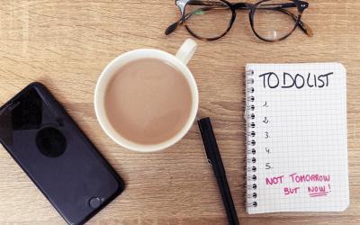 Mon plan d'action anti-procrastination !