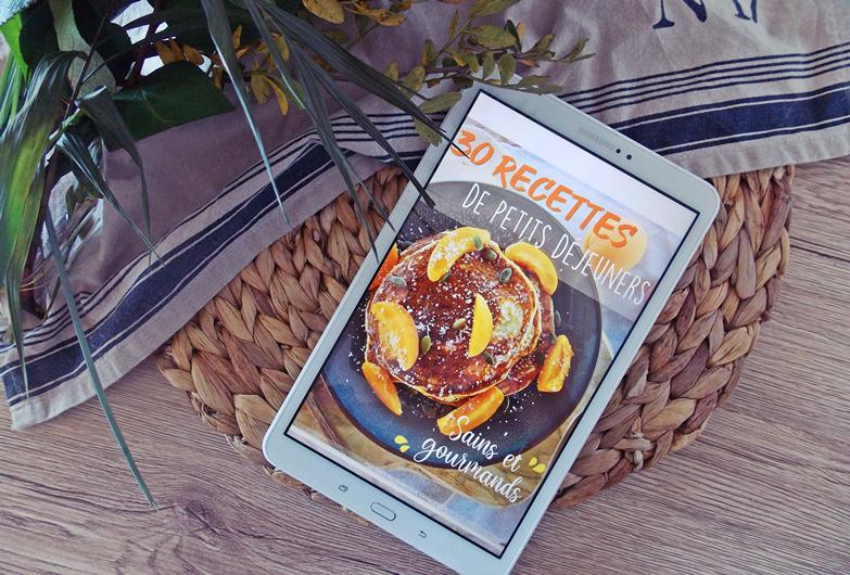 Je te présente mon tout premier e-book de recettes !