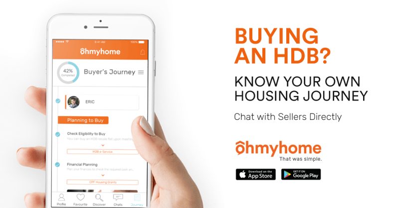 Ohmyhome DIY Housing App Chat with Home Owners Directly