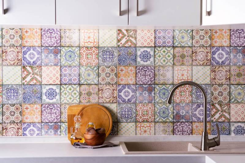 home-renovation-essential-guide-every-homeowner-colorful-tiles-sink-backsplash