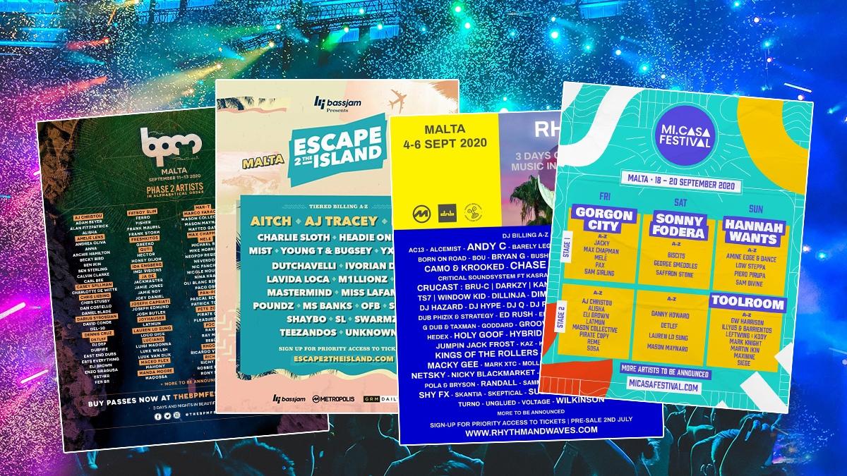 Malta: summer 2020's festival hotspot