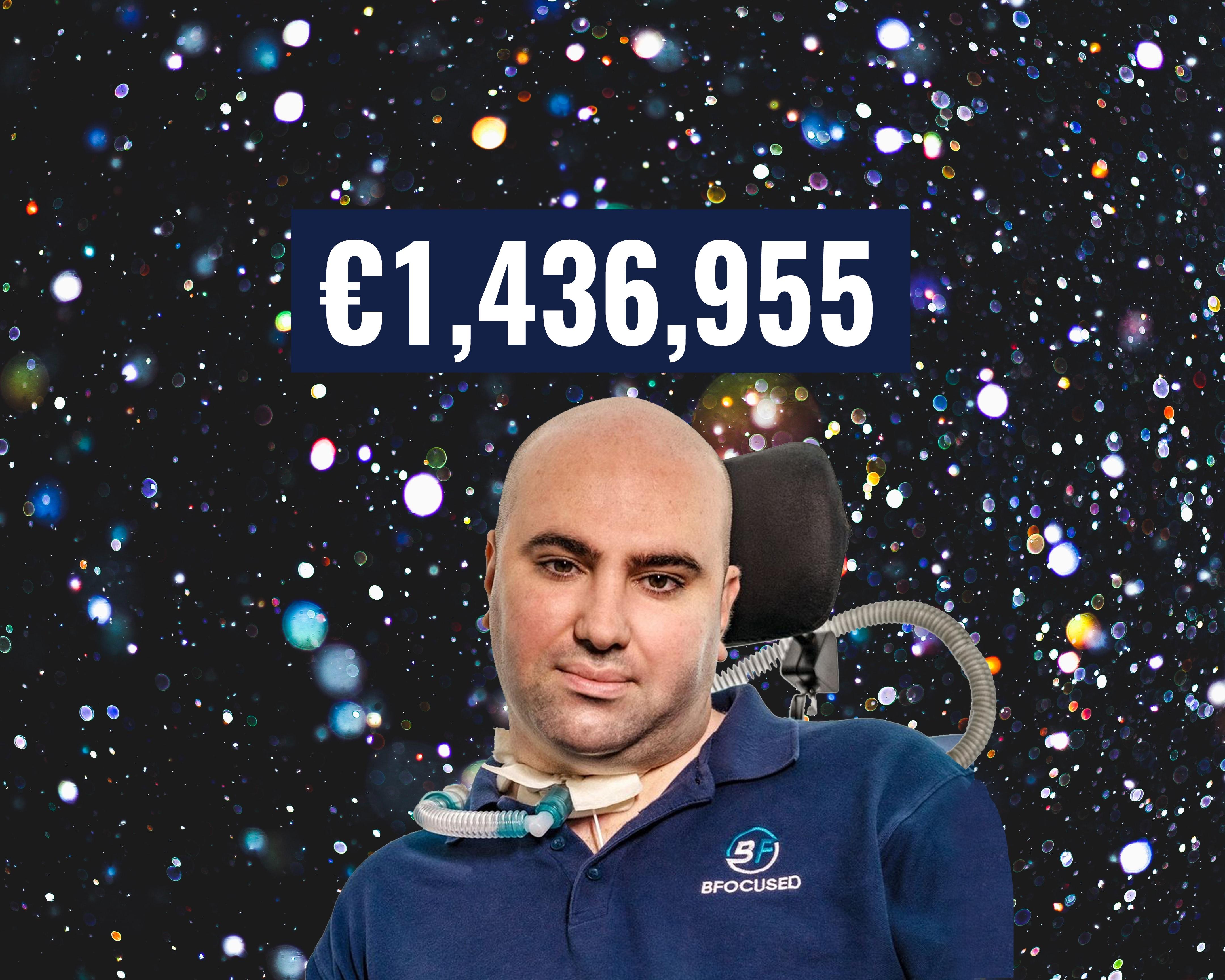 Dar Bjorn fundraiser surpasses €1,000,000