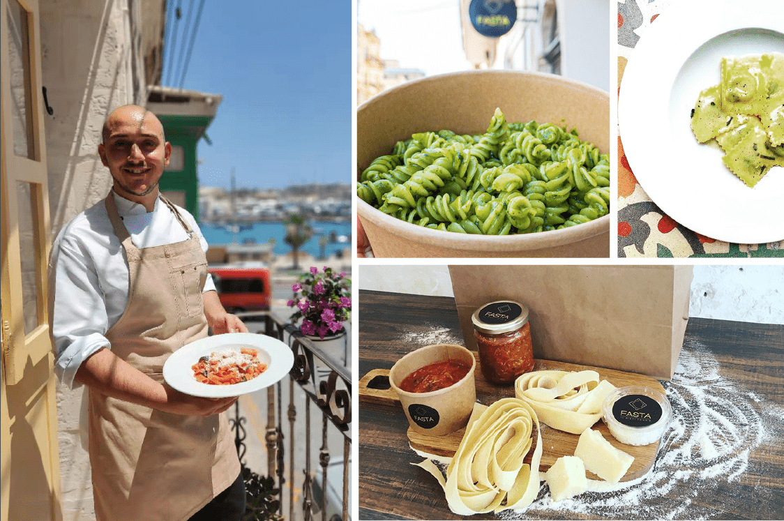 Read more about the article Let's eat! Fresh, fast, cook-to-order pasta at this eatery in the heart of Gzira