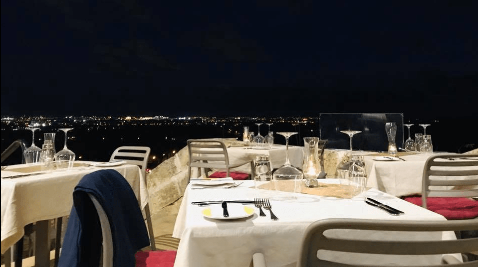 A culinary experience under the stars