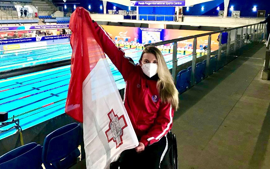 Read more about the article Vladyslava Kravchenko is the first athlete confirmed for team Malta at the Tokyo 2020 Paralympic Games