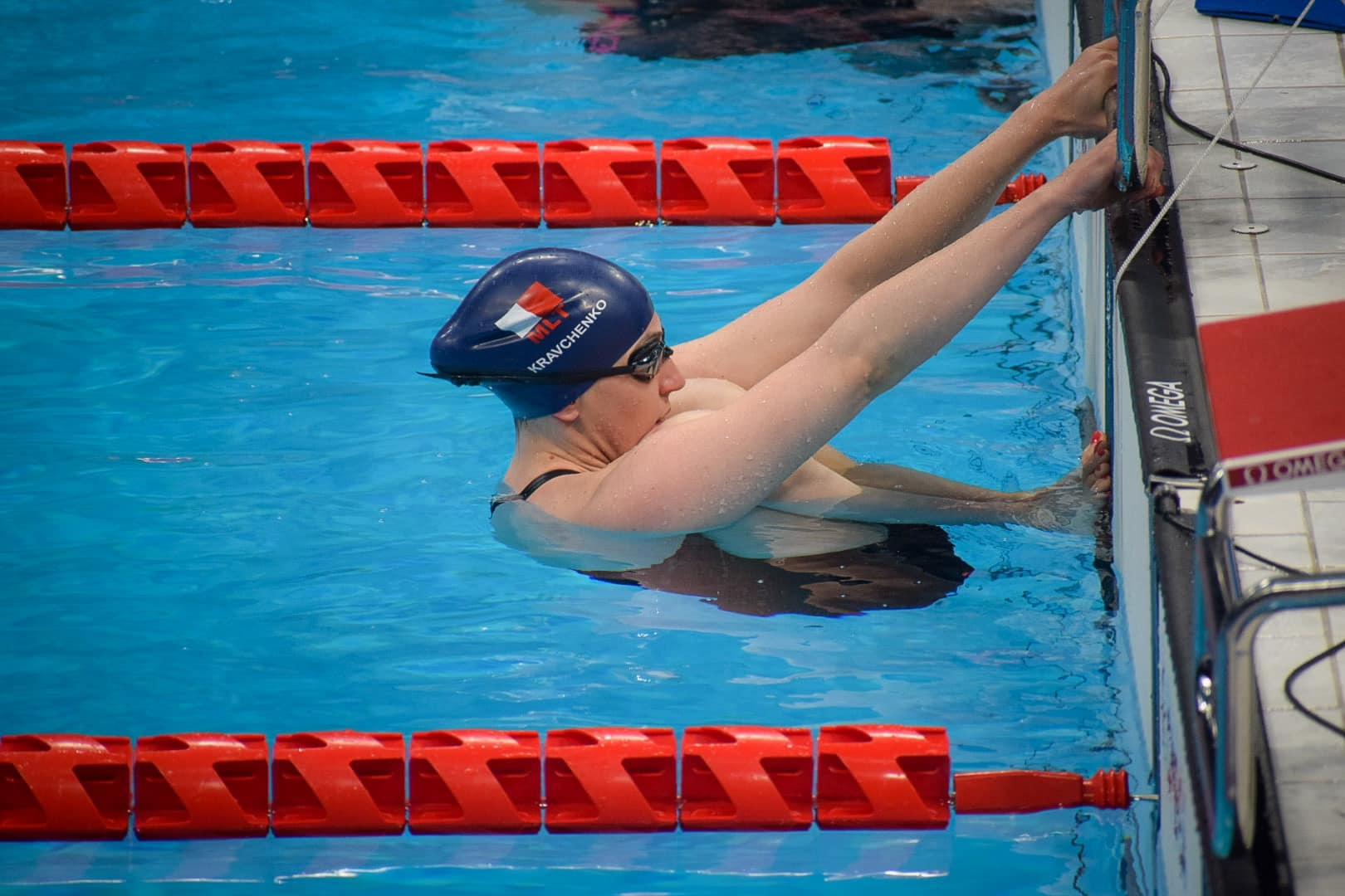 Read more about the article Vladyslava Kravchenko records one of her fastest swimming times at the Paralympic Games