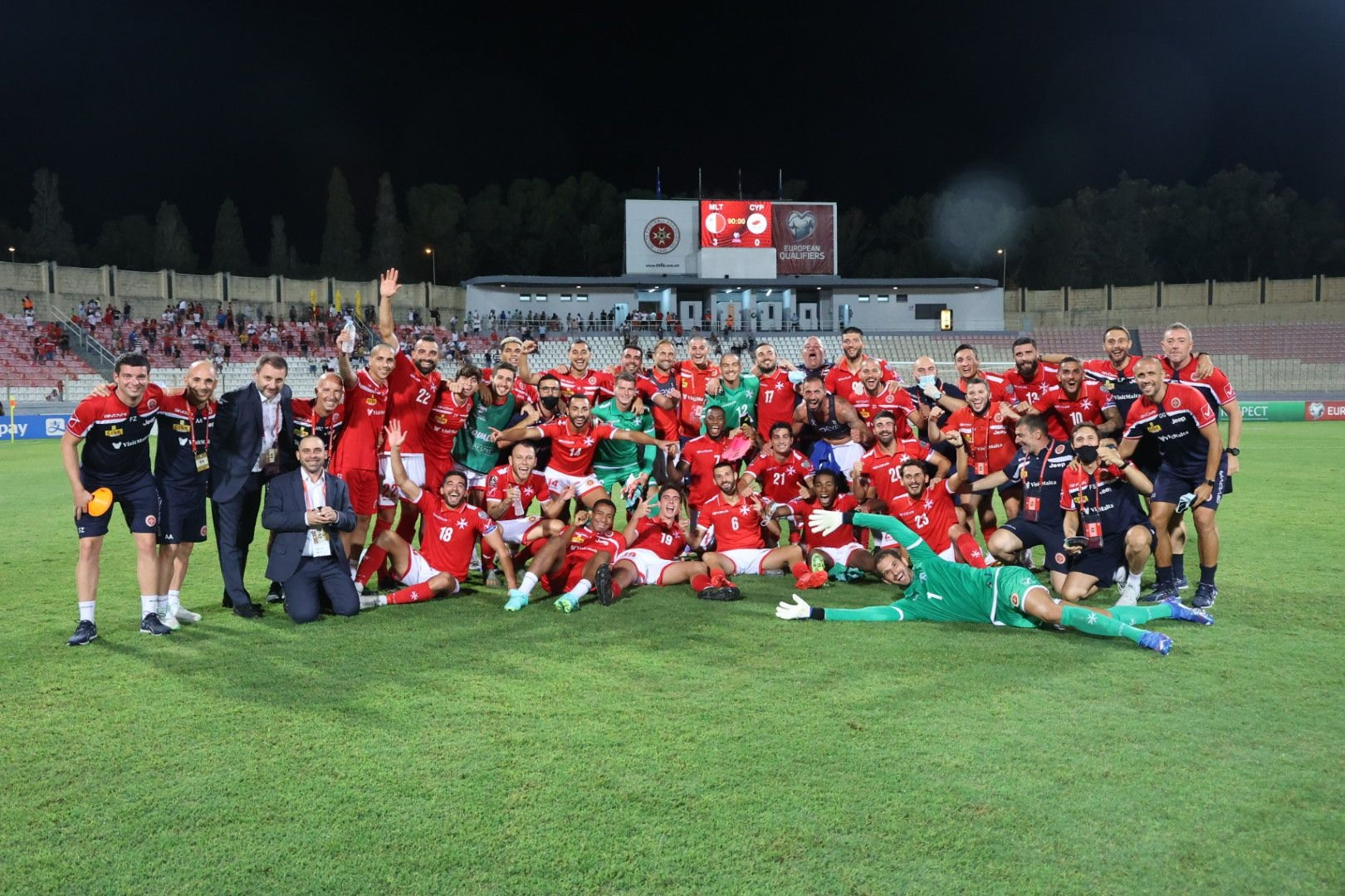 Read more about the article Malta wins first World Cup Qualifier in 8 years, beating Cyprus 3-0