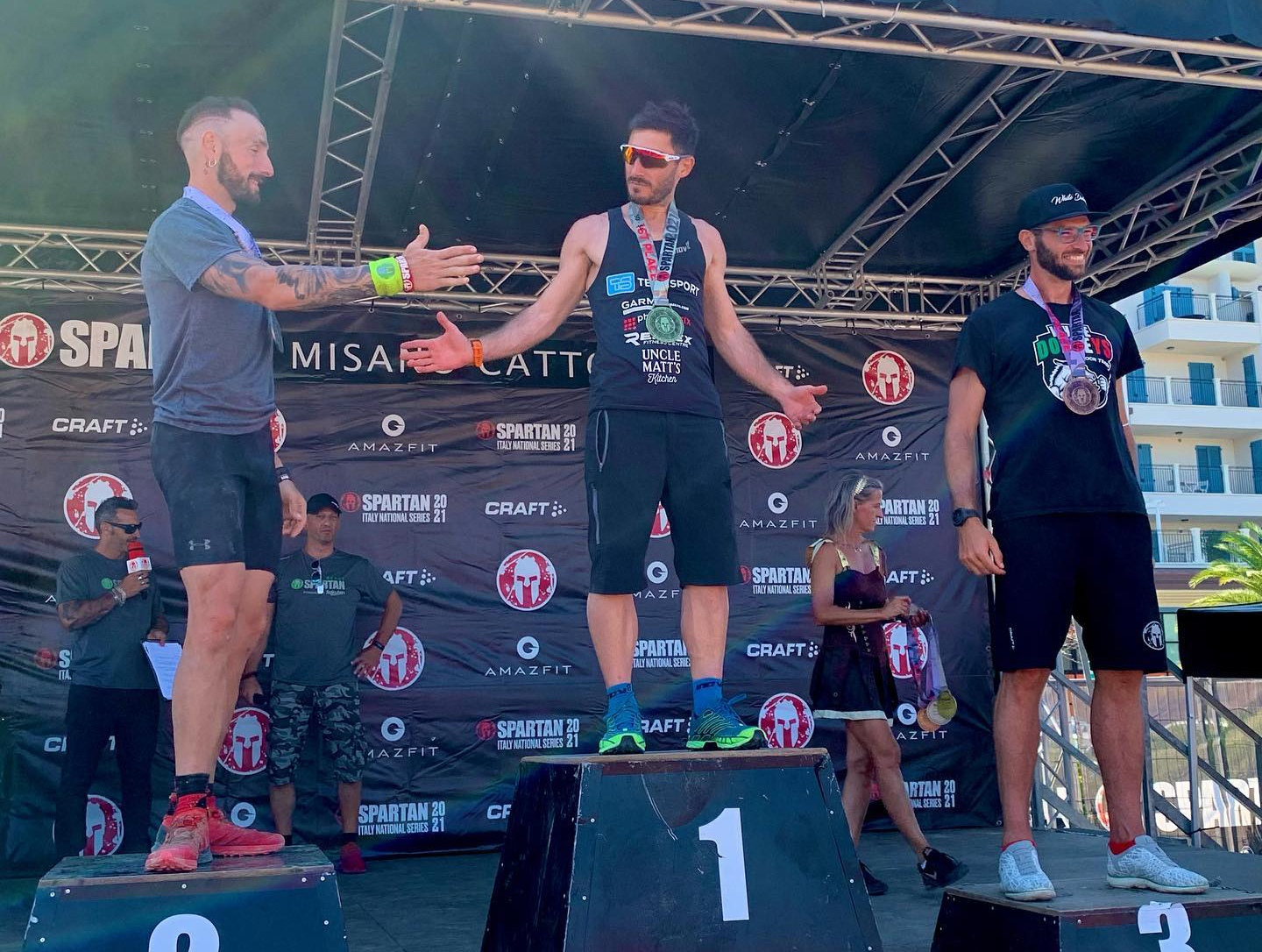 Read more about the article Local athlete flies Maltese flag at Spartan Race in Italy