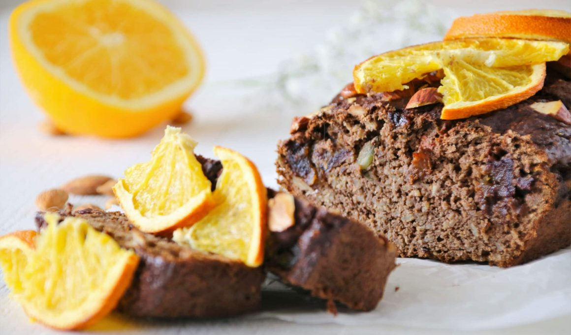 glutenvrije gezondere speculaas cake