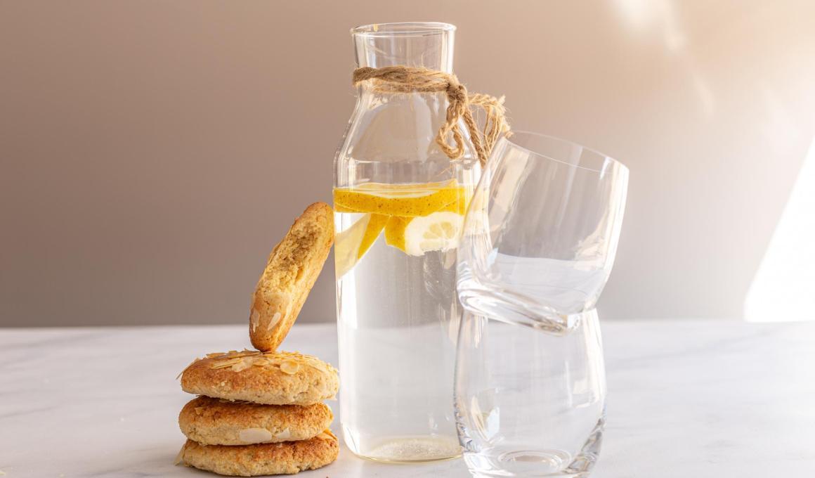 Glutenvrije amandelkoeken met citroen