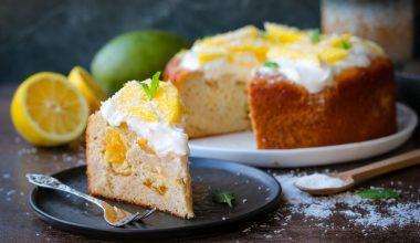 Glutenvrije ontbijtcake met mango