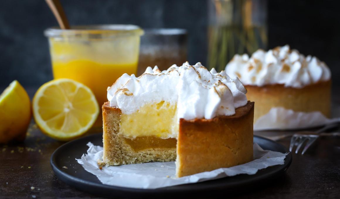 Glutenvrije lemon merengue taartjes