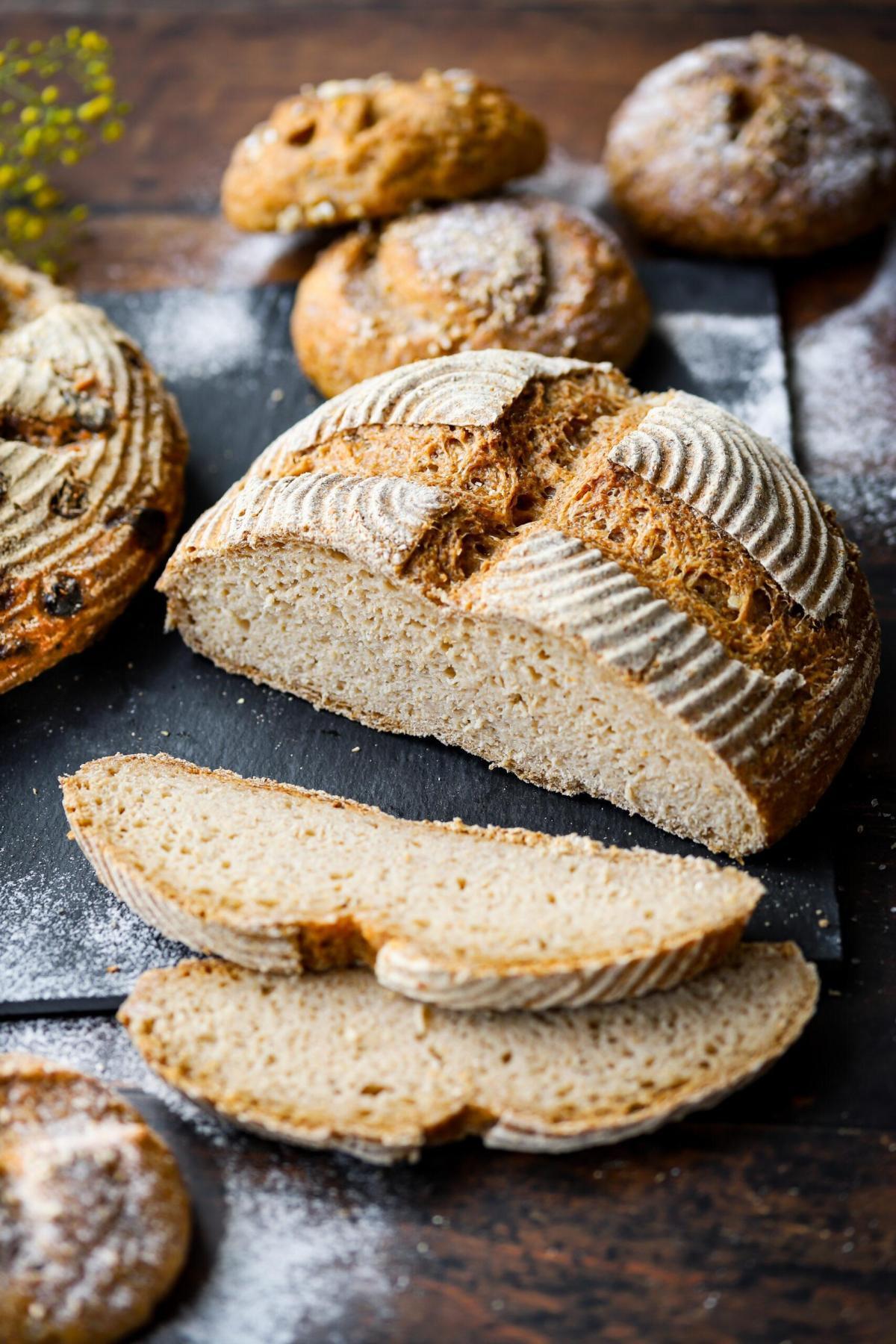 Glutenvrij zuurdsembrood