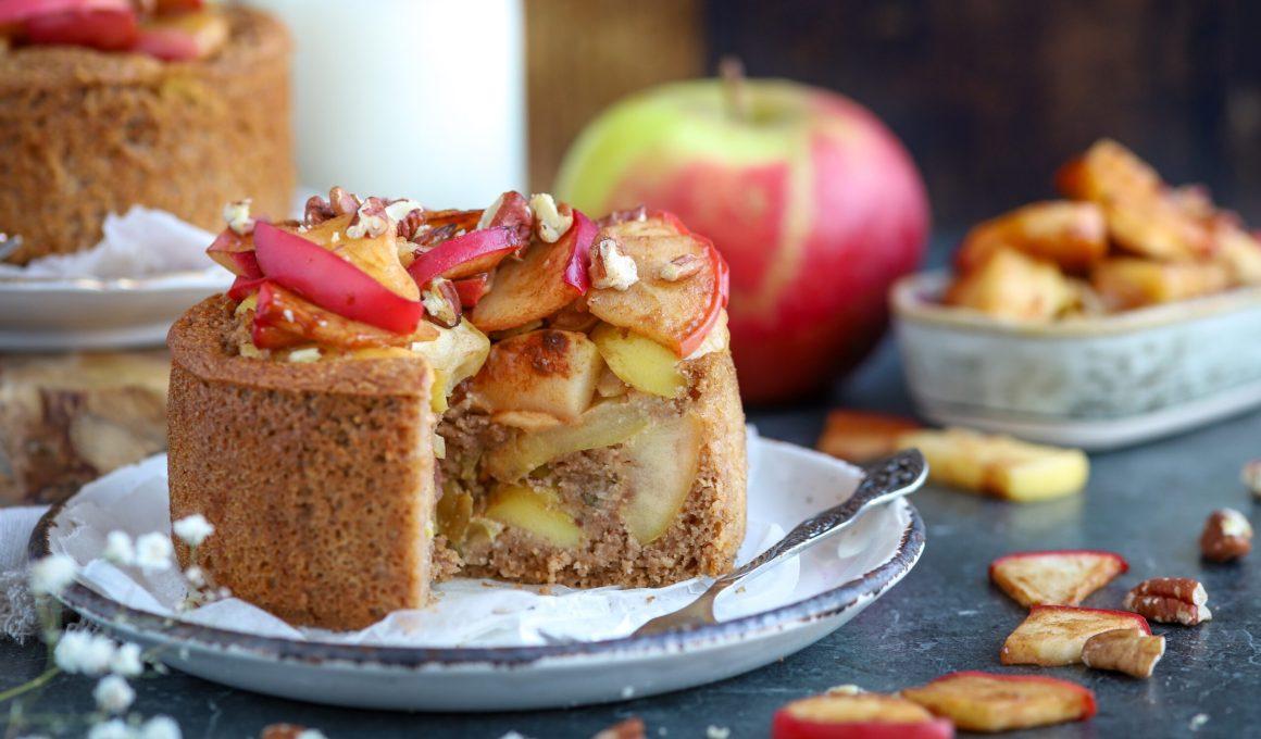 Gezonde appeltaart, glutenvrij én vegan