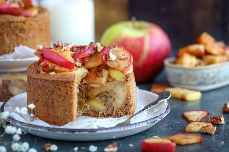 Appeltaart ontbijttaartjes, glutenvrij en vegan!